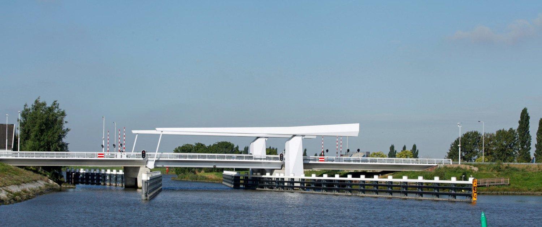 movable bridge N207 Gouda, bridge design by ipv Delft