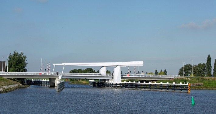 movable bridge N207 Gouda, bridge design by ipv Delft