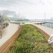 Jiangxia Park Bridge Ningbo China, design by ipv Delft