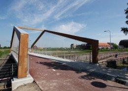 bridge rvs Bodegraven Weideveld, bridge design by ipv Delft