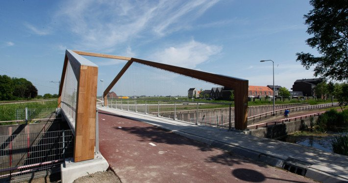 bridge rvs Bodegraven Weideveld, bridge design by ipv Delft