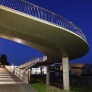 traffic bridge Stationsweg Heerhugowaard, bridge, design by ipv Delft, shortcut