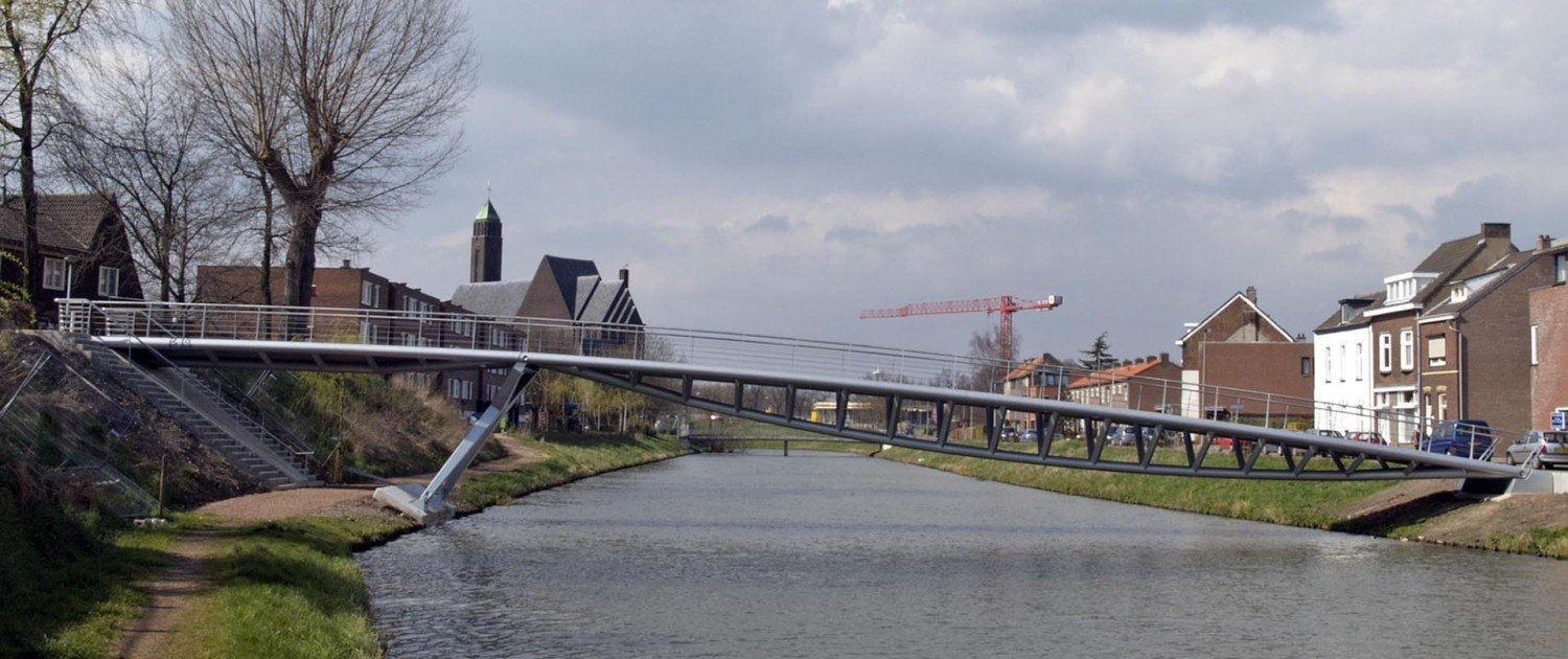 footbridge, bridge design by ipv Delft