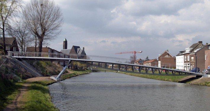 footbridge, bridge design by ipv Delft