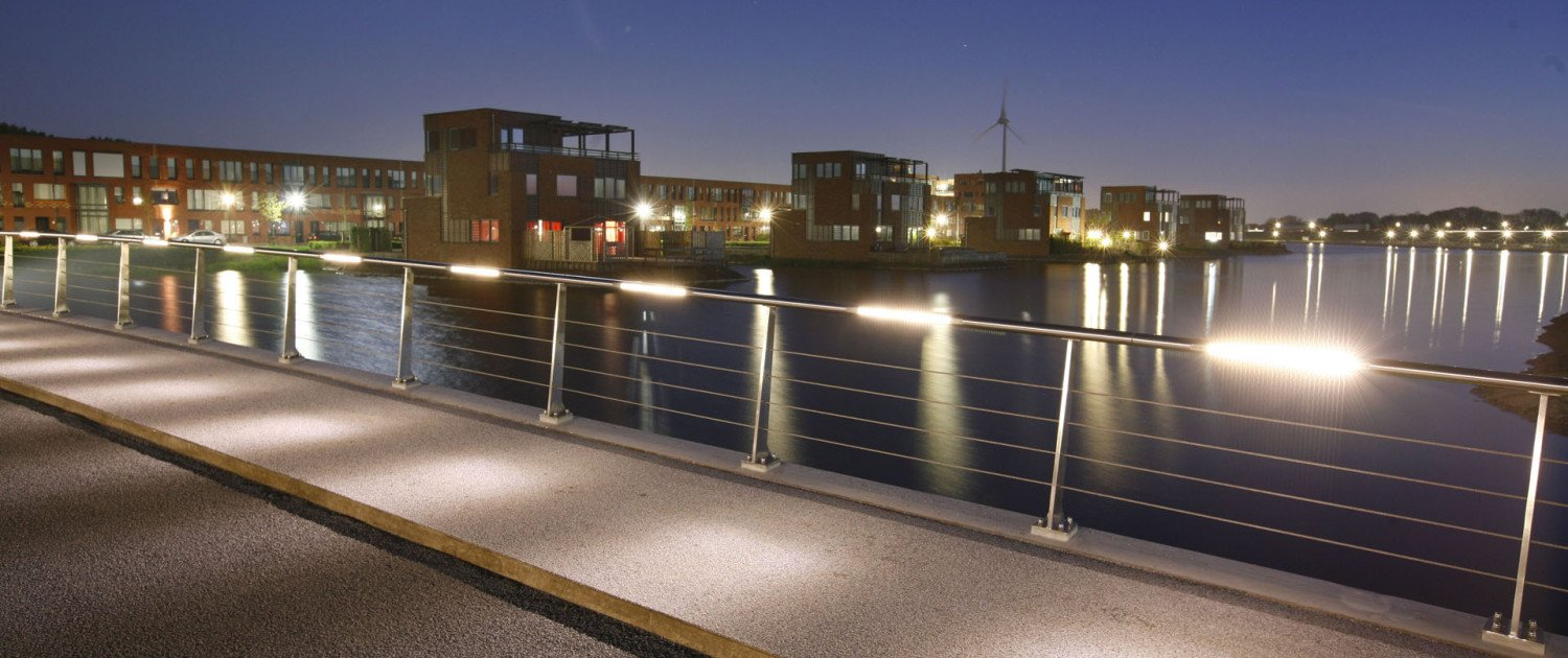 trafficbrigde Heerhugowaard South, bridge design by ipv Delft