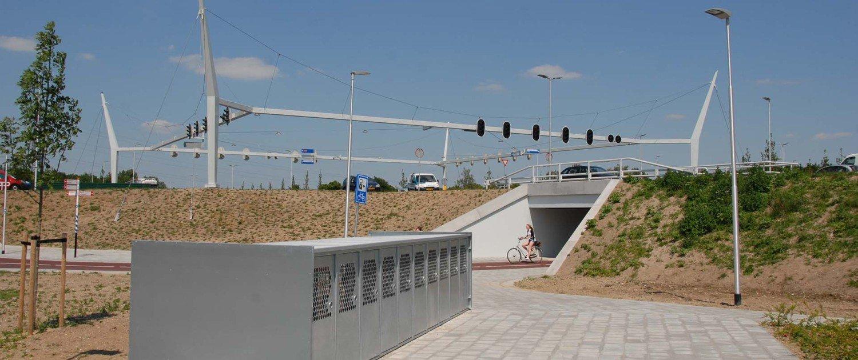 poort Neerbosch portal crossing, design by ipv Delft
