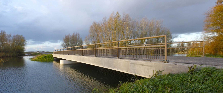 depoldering bridge Noordwaard ipv Delft