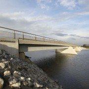 Kalvervaard bridge, member of bridge family Noordwaard, design by ipv Delft