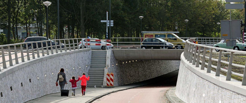 underpasses Bio Science Park ipv Delft