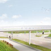 slender bycicle fastlane, steel support, design by ipv Deflt