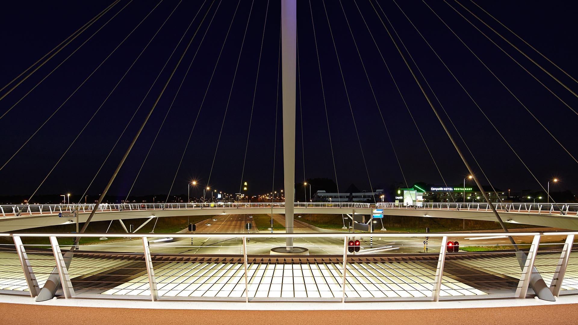 Hovenring Ipv Delft Creative Engineers The Next Diagram On Right I Have Cut Through A Suspension Bridge Image Andreas Secci Previousnext