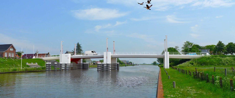 movable bridge Dronrijp ipv Delft