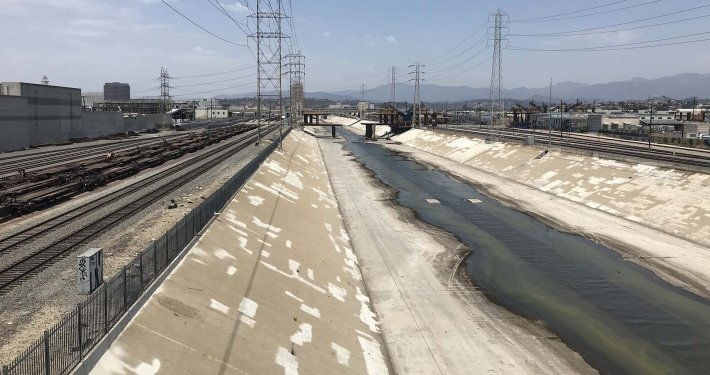 LA River bike path gap closure project Jacobs Alta ipv Delft Metro