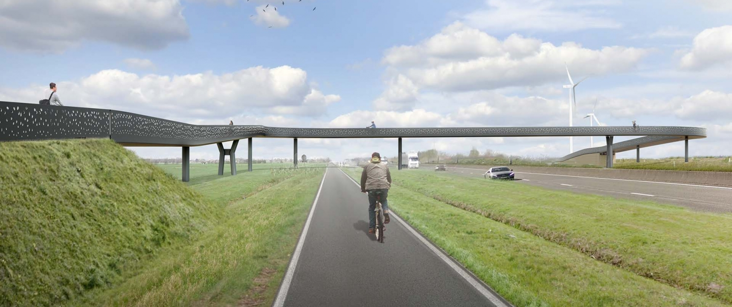 visualisation bicycle R4WO Gent